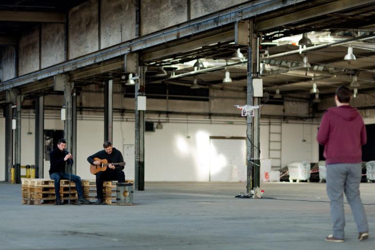 Filmproduktion 〉 Berlin 〉 Musikvideo 〉 Making of