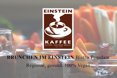 Produktvideo 〉 BRUNCH IM EINSTEIN Bistro Potsdam